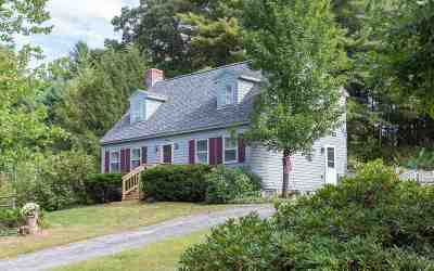 Nashua Single Family Home Active Under Contract: 19 Pioneer Drive