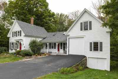Candia Single Family Home Active Under Contract: 513 High Street