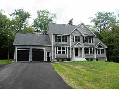 Concord NH Single Family Home For Sale: $499,900