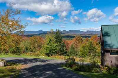 Stowe Single Family Home For Sale: 712 Glen Brook Road #Lot 6