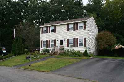 Concord NH Single Family Home For Sale: $254,950