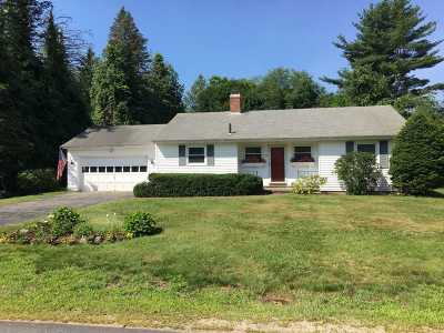 Concord NH Single Family Home For Sale: $315,000