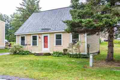 Concord NH Condo/Townhouse For Sale: $195,000