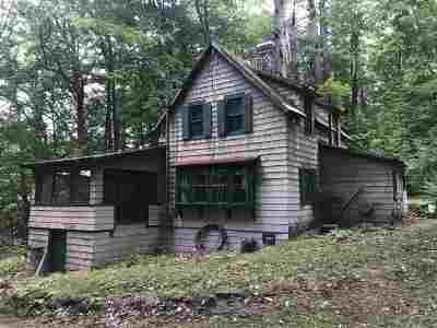 Concord NH Single Family Home For Sale: $160,000