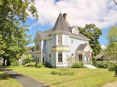 Concord NH Single Family Home For Sale: $455,000