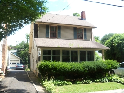 West Orange Twp. Single Family Home Active Under Contract: 42 Randolph Place