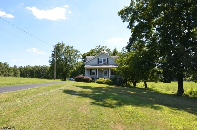 Bedminster Twp. Single Family Home For Sale: 1000 Burnt Mills Rd