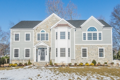 Florham Park Boro Single Family Home Sold: 5 Spring Valley Dr