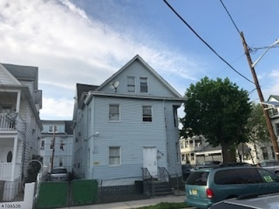 Passaic City Multi Family Home For Sale: 278 Madison St