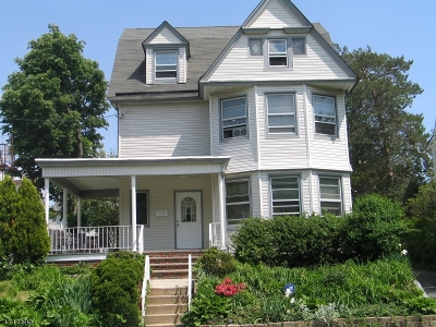 Newark City NJ Single Family Home For Sale: $359,900