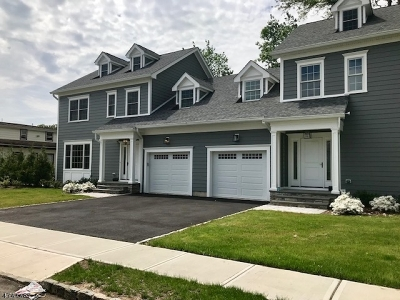 Summit City NJ Condo/Townhouse For Sale: $1,090,000