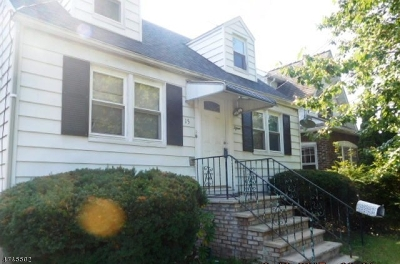 Union Twp. Single Family Home For Sale: 15 Edward Ter