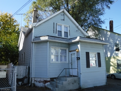 Paterson City Single Family Home Active Under Contract: 215-217 Kearney Street