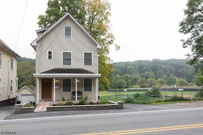 Morristown Town, Morris Twp. Single Family Home For Sale: 44 Mendham Ave