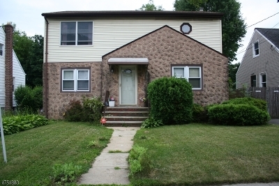 Hillside Twp. Single Family Home For Sale: 516 Chapman St