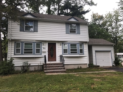 Cranford Twp. Single Family Home For Sale: 5 Venetia Ave