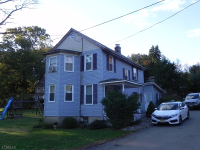 Morris Twp. Single Family Home Active Under Contract: 244 W Hanover Ave
