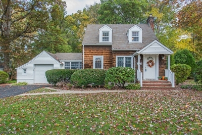 Wyckoff Twp. Single Family Home For Sale: 319 Birch Pkwy