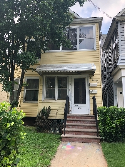 Elizabeth City Multi Family Home For Sale: 903 Jersey Ave #2