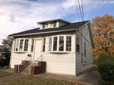 Totowa Boro Single Family Home For Sale: 480 Totowa Rd