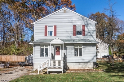 Mount Olive Twp. Single Family Home For Sale: 45 3rd Street