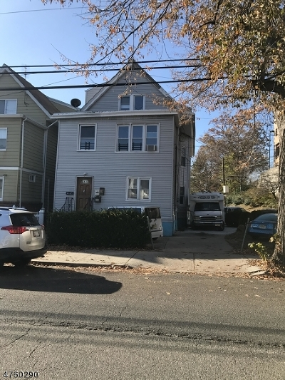Passaic City Multi Family Home For Sale