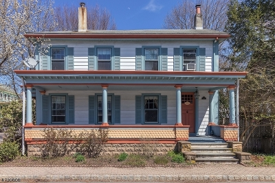 Frenchtown Boro Single Family Home For Sale: 214 Harrison St