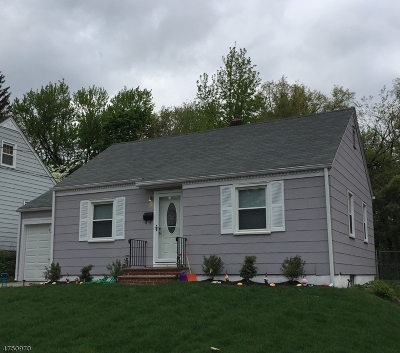 Clifton City Single Family Home For Sale: 16 Linwood Ter