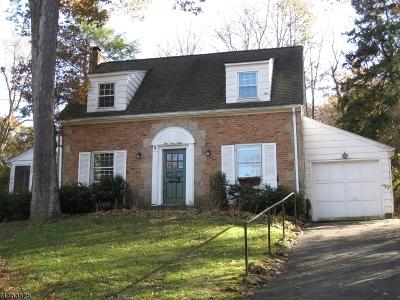 Summit Single Family Home For Sale: 168 Blackburn Rd