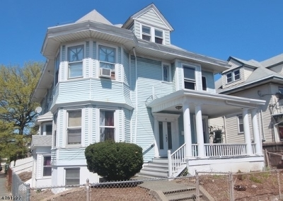 Paterson City Multi Family Home For Sale: 95-97 17th Ave