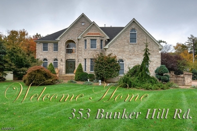 Franklin Twp. Single Family Home For Sale: 353 Bunker Hill Rd