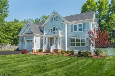 Madison Boro Single Family Home For Sale: 1 Meadow Ct