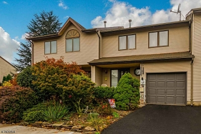 Raritan Twp. Condo/Townhouse For Sale: 52 Elm Terrace