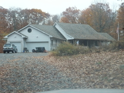 Mount Olive Twp. Single Family Home For Sale: 111 Crease Rd