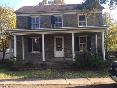 Holland Twp., Milford Boro Single Family Home For Sale: 24 Green St