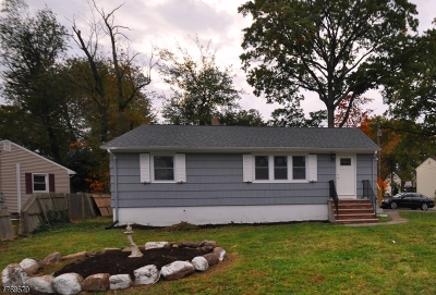 Parsippany Single Family Home For Sale: 595 Lake Shore Dr