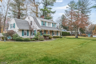 Wyckoff Twp. Single Family Home For Sale: 160 Greenhaven Rd