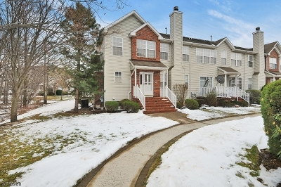 Piscataway Twp. Condo/Townhouse For Sale: 158 Vasser Dr