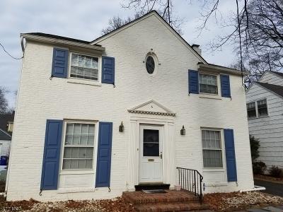 Roselle Park Boro Single Family Home For Sale: 4 Rhoda Ter