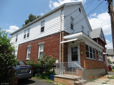 Nutley Twp. NJ Multi Family Home For Sale: $279,000