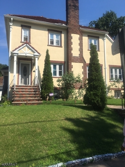 Paterson City Single Family Home Active Under Contract: 75-81 E 35th St