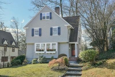 Millburn Twp. Single Family Home For Sale: 42 Elm St