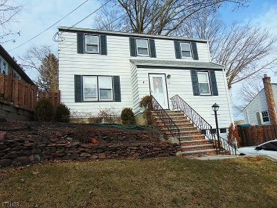 Nutley Twp. NJ Single Family Home For Sale: $424,900