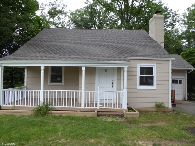 New Providence Single Family Home For Sale: 777 Mountain Ave