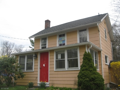 Mount Olive Twp. Single Family Home For Sale: 6 North Rd