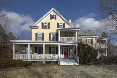 Mendham Boro, Mendham Twp. Single Family Home Active Under Contract: 2 Talmage Rd