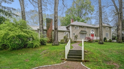 Madison Boro Single Family Home For Sale: 34 Midwood Ter