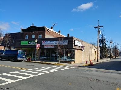 Roselle Park Boro Commercial For Sale: 121 Chestnut St