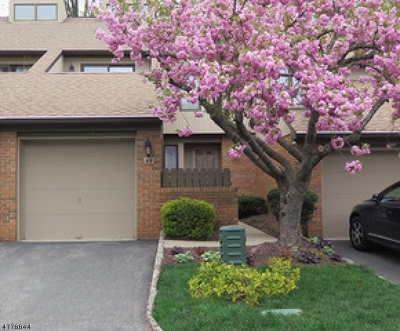 Morris Twp. Condo/Townhouse For Sale: 58 Keats Way