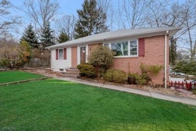 Millburn Twp. Single Family Home For Sale: 41 Cedar St